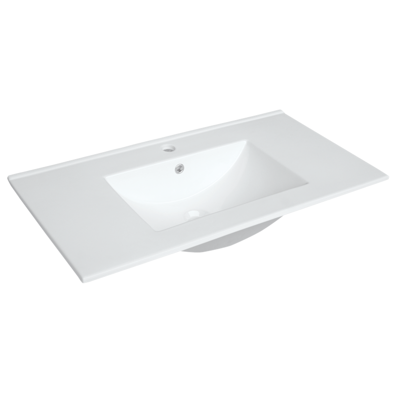Cadenza 900mm 1 Tap Hole Ceramic Basin