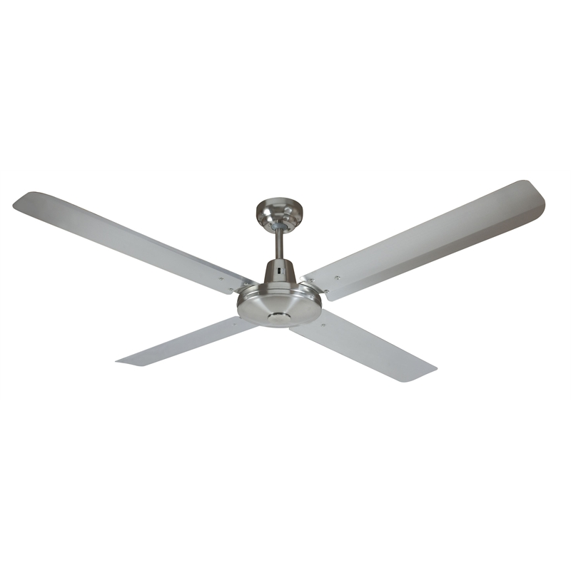 Moretti 130cm Stainless Steel Maldives Ceiling Fan