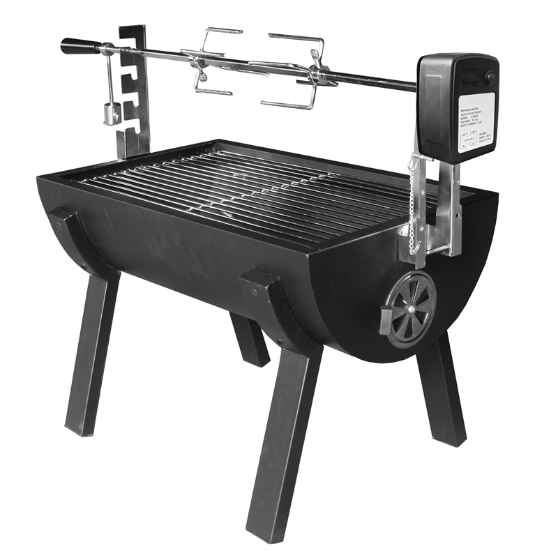 Small Novo Battery Spit Roaster with Rotisserie