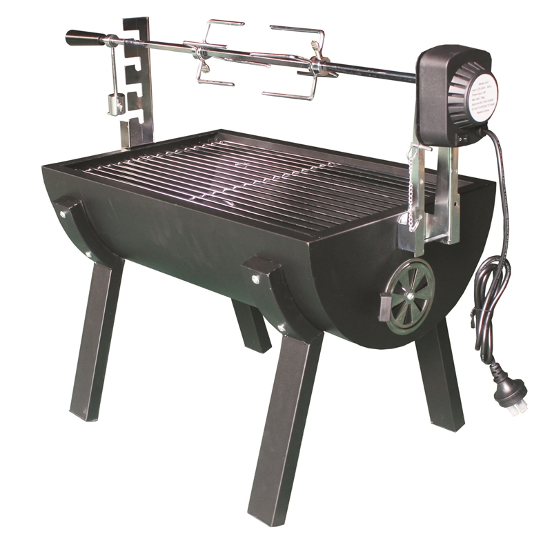88 x 36 x 63cm Mini Spit Rondo Charcoal Roaster