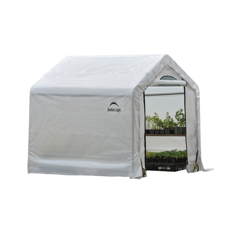 Shelter Logic 1.8 X 1.8 X 1.8m Portable Greenhouse | Bunnings Warehouse