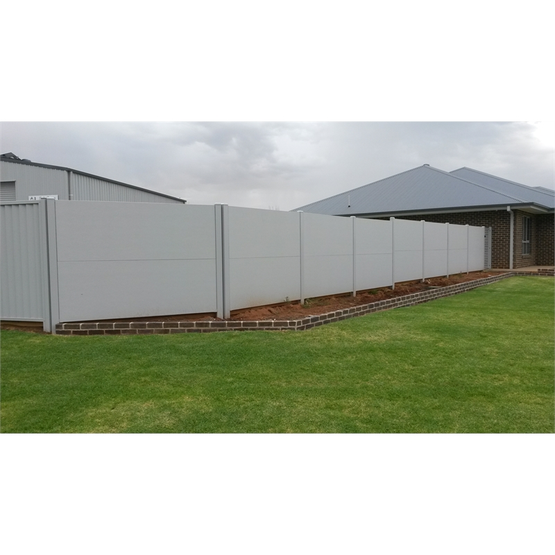 Slenderline 2400 x 900 x 50mm Modular Fencing Panel