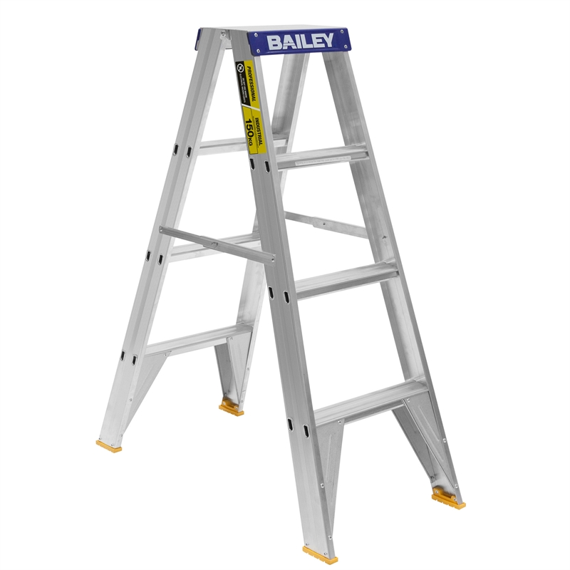 Bailey 1 2m 150kg Professional Double Sided Aluminium Step