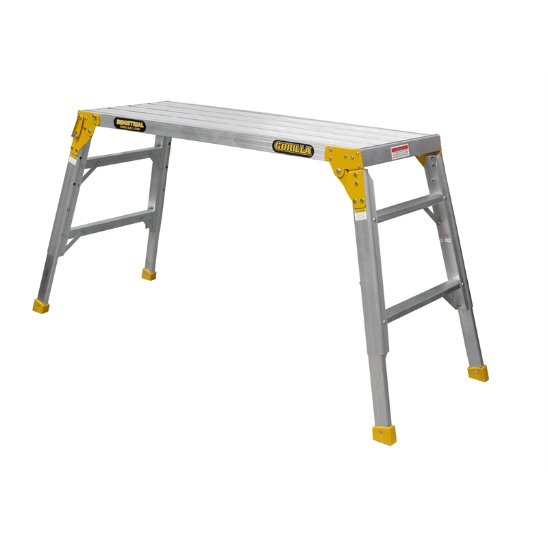 Gorilla 450mm Industrial 150kg Wide Work Platform