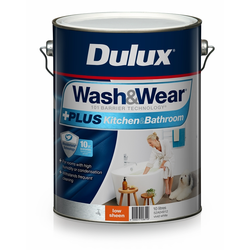 Dulux Wash And Wear Plus Kitchen And Bathroom