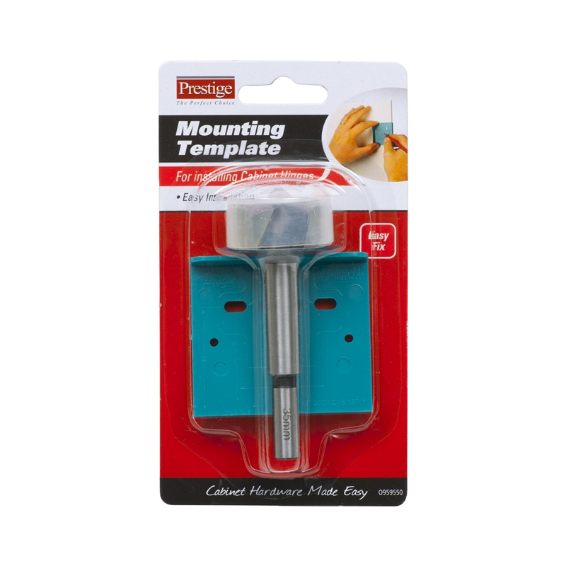 Prestige Hinge Mounting Kit With Drill Bit Bunnings