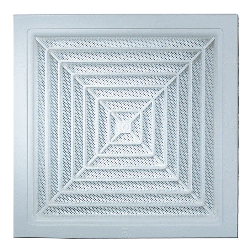 Haron 300 x 300mm White Square Ceiling Vent