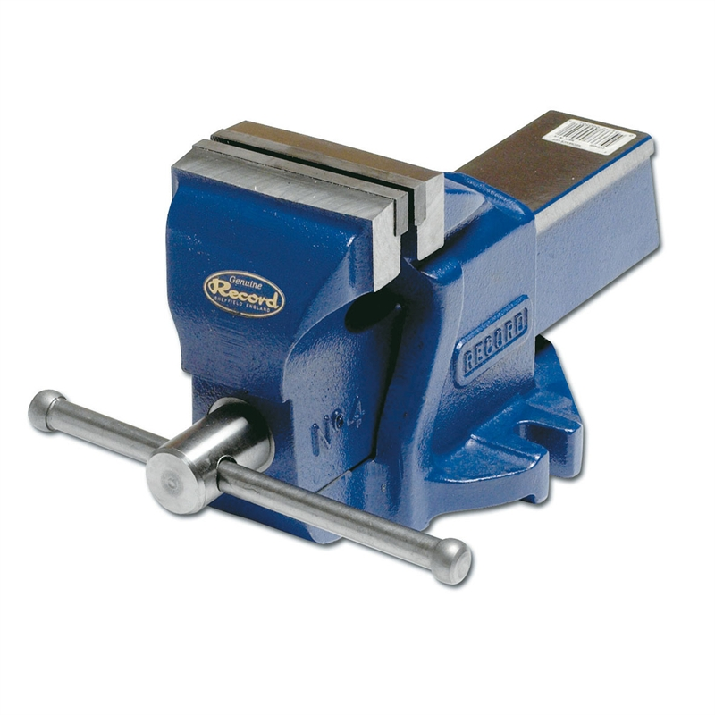 Irwin record 100mm engineers bench vice bunnings warehouse - Etau leroy merlin ...