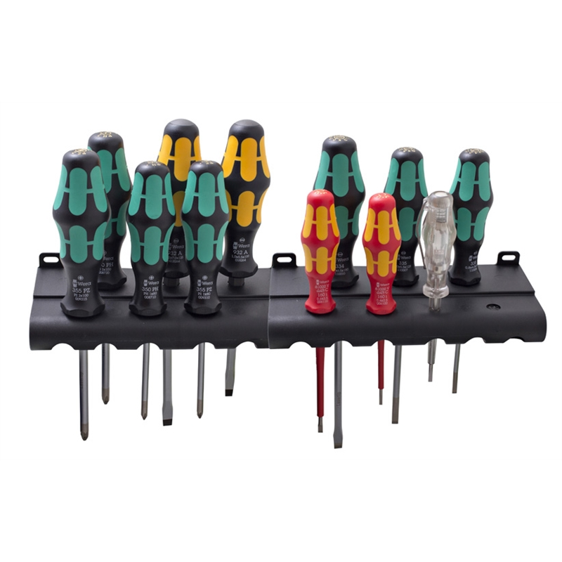 wera 12 piece kraftform xxl screwdriver set bunnings