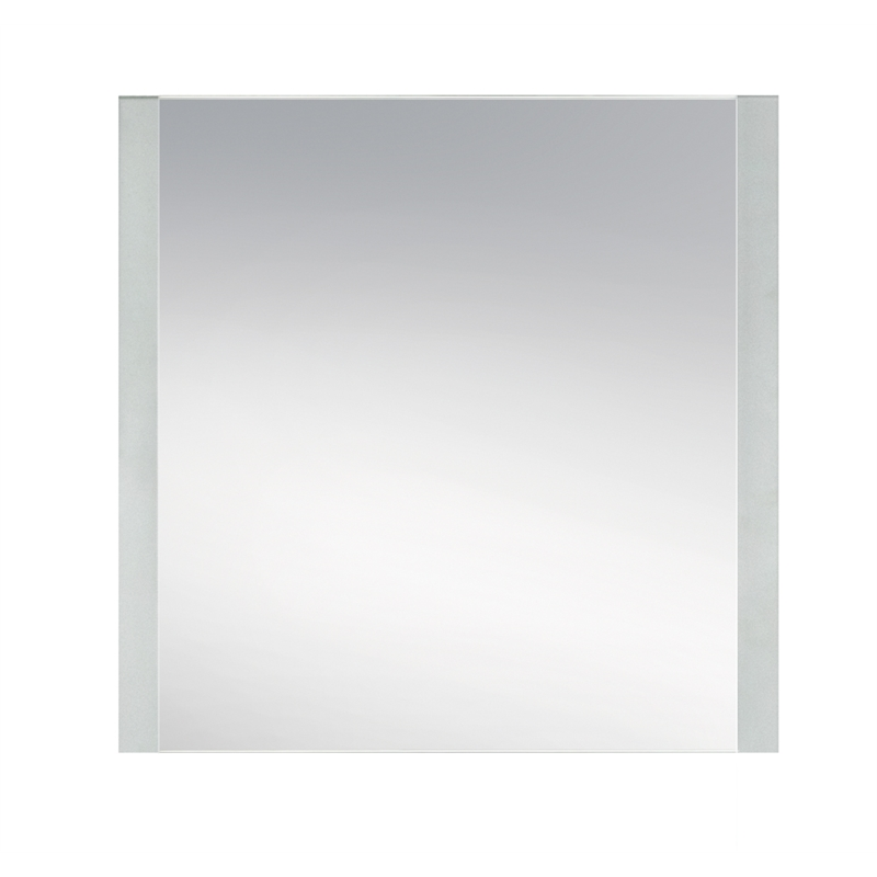 Award 900 x 900mm frosted edge mirror panel i n 1730108 for Mirror 900 x 800