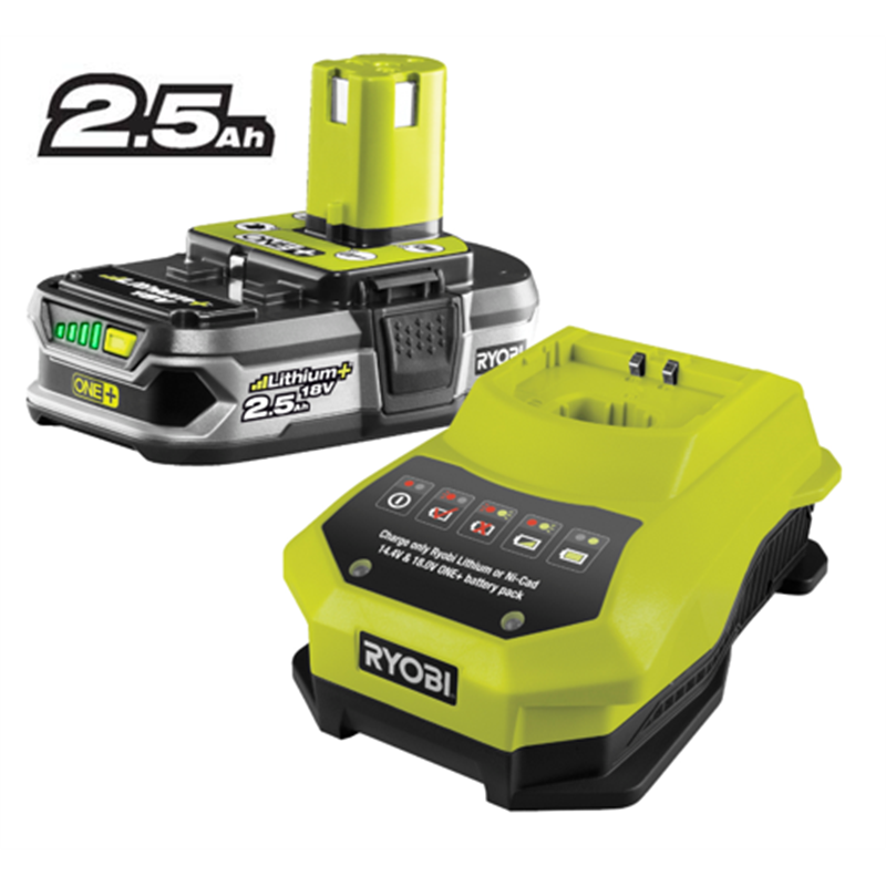 ryobi one 18v battery and charger kit compare club. Black Bedroom Furniture Sets. Home Design Ideas