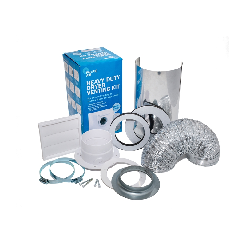 Pacific Air Heavy Duty Dryer Venting Kit Bunnings Warehouse