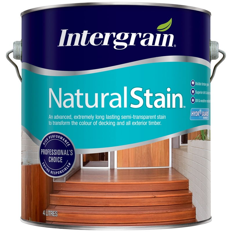 Intergrain 4l Naturalstain Tint Base Water Based Exterior