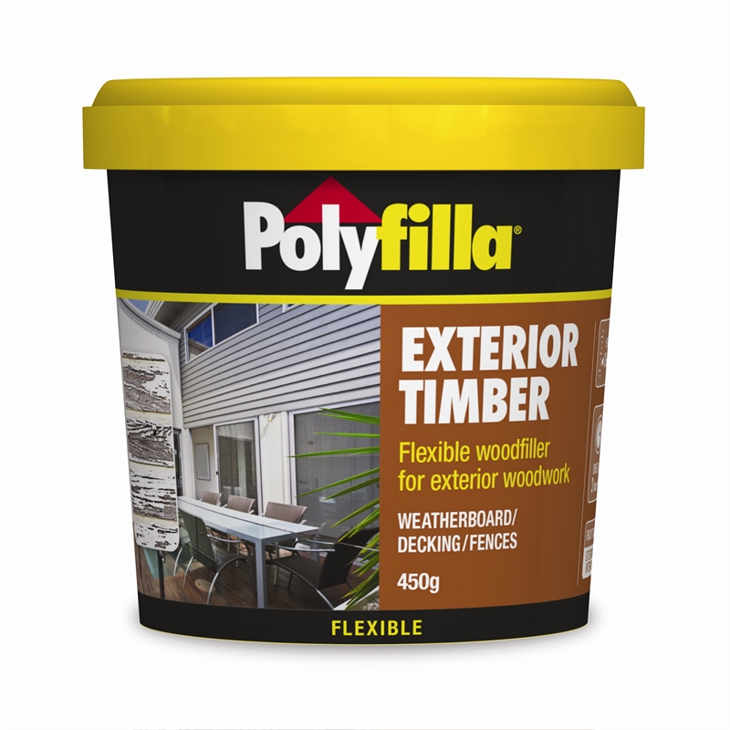 Exterior Wood Filler Polyfilla 450G Exterior Timber Filler  Bunnings Warehouse