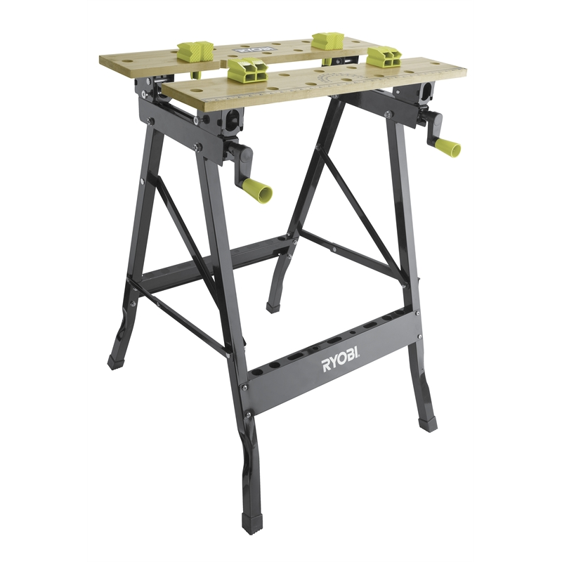 Ryobi Foldable Workbench With Adjustable Angle Bunnings Warehouse