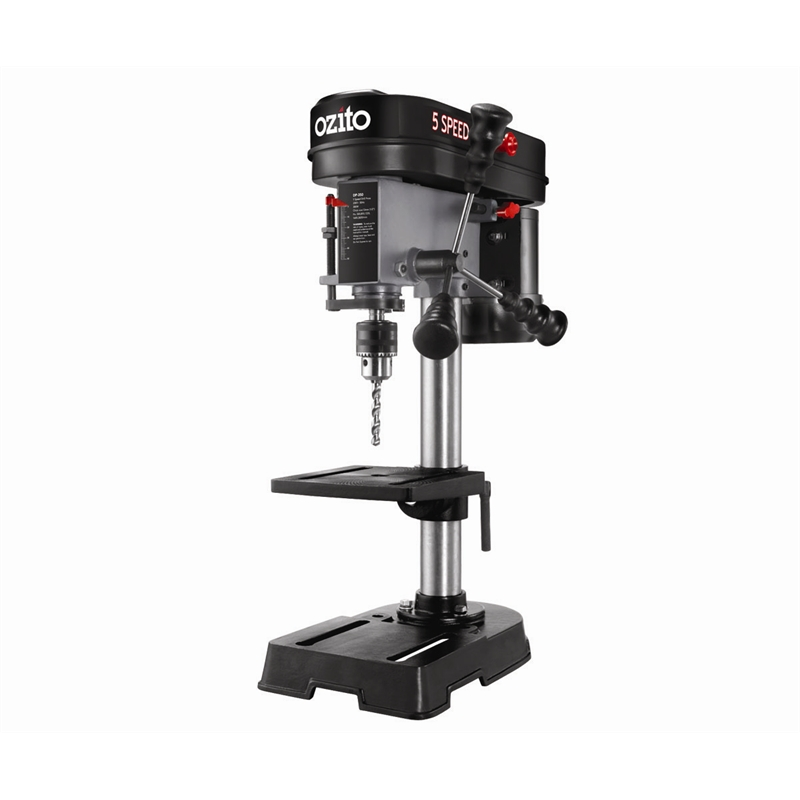 Ozito 350w 5 Speed Bench Drill Press Bunnings Warehouse