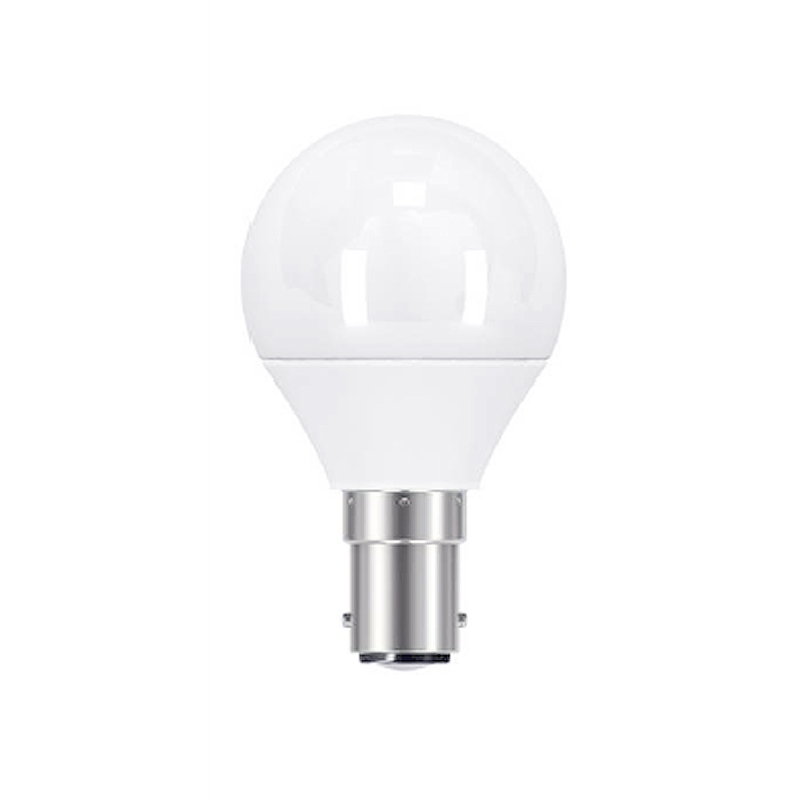 osram 3 3w 250lm led classic p warm white fancy shape b15d frosted globe. Black Bedroom Furniture Sets. Home Design Ideas