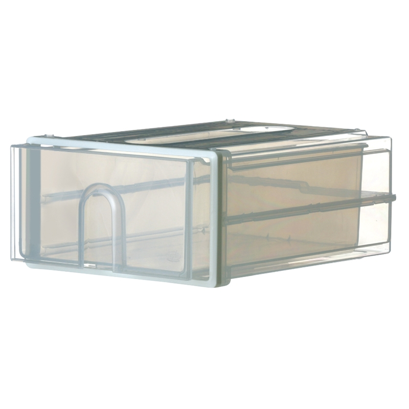 4622dcc62e10 Oates Large Translucent Storage Stacker Drawer