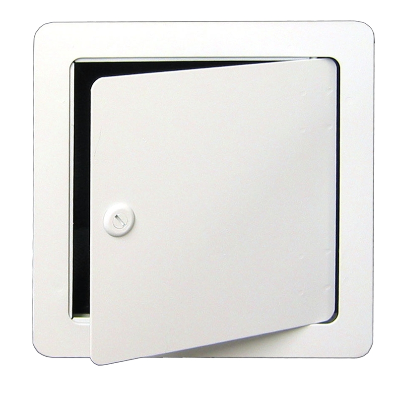 Haron 200 X 200mm White Metal Lockable Access Panel