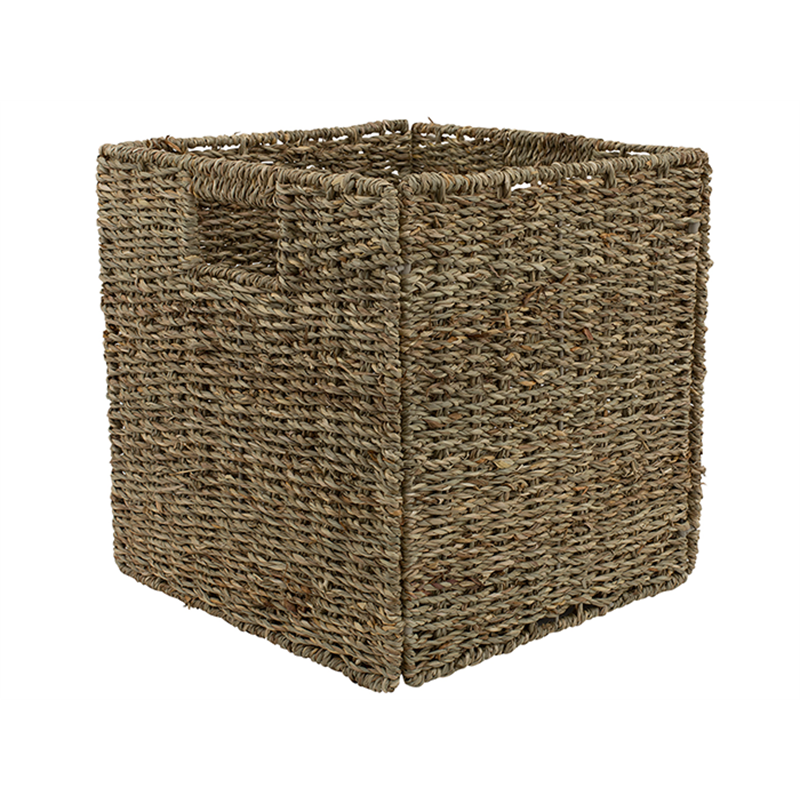 Wicker Basket Storage Cube : Clever cube mm natural sea grass insert