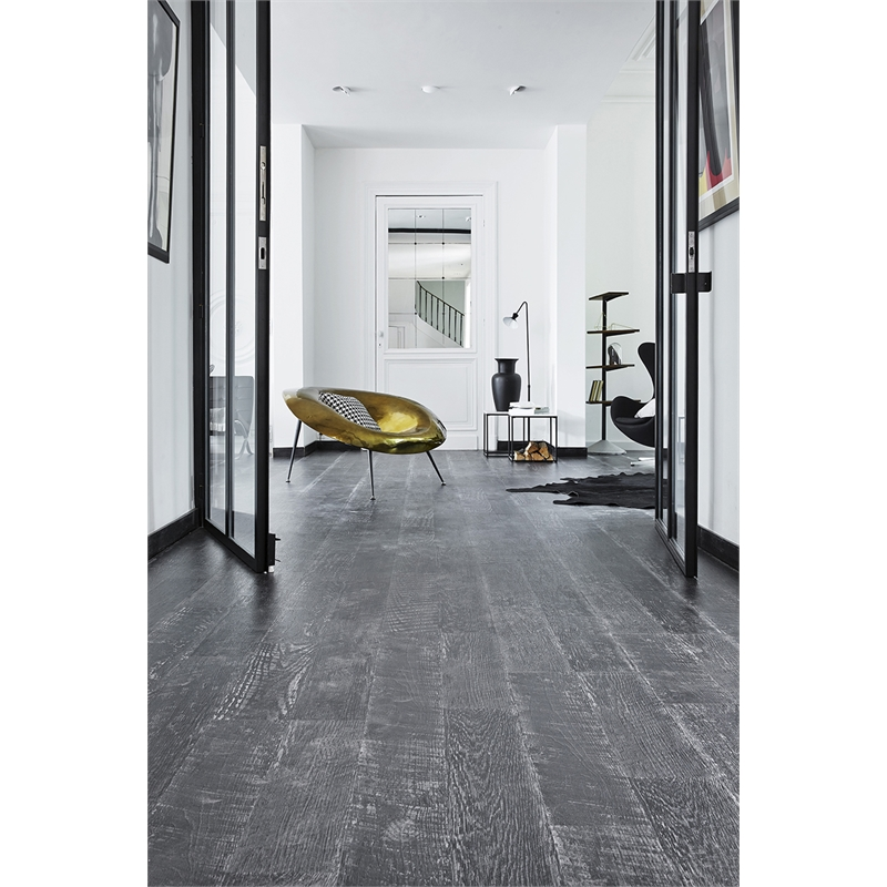 Tarkett 8mm 2565sqm Painted Black Laminate Floor Bunnings Warehouse
