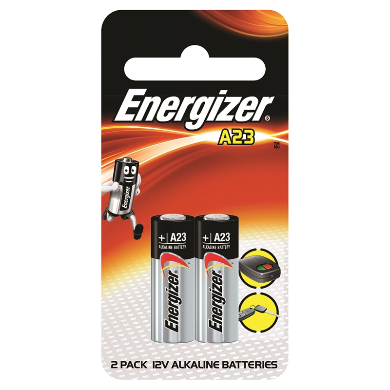 Energizer A23 12V Battery - 2 Pack | Bunnings Warehouse