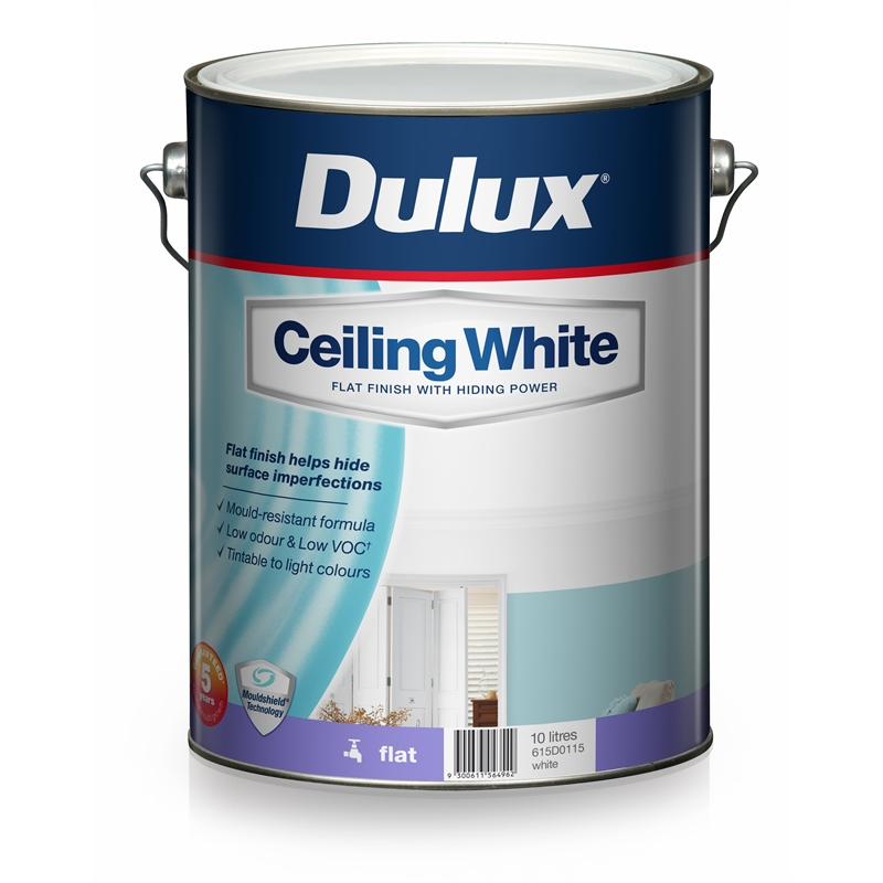 Dulux 10L Ceiling White Paint | eBay