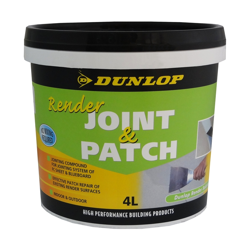 Dunlop 4L Premix Render Joint And Patch Bunnings Warehouse