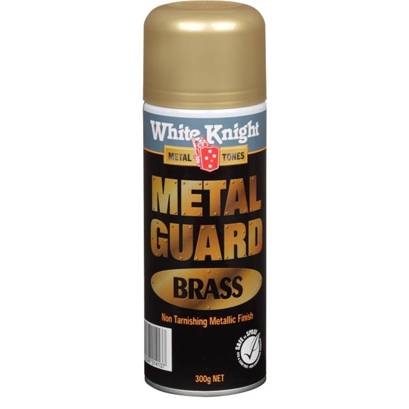 white knight 300g metal guard brass spray paint bunnings warehouse. Black Bedroom Furniture Sets. Home Design Ideas