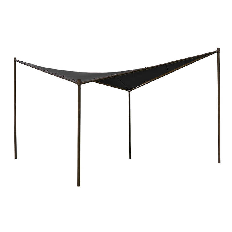 I/N 3192039  sc 1 st  Bunnings Warehouse & Coolaroo 4 x 4m Charcoal Square Butterfly Semi-Permanent Gazebo