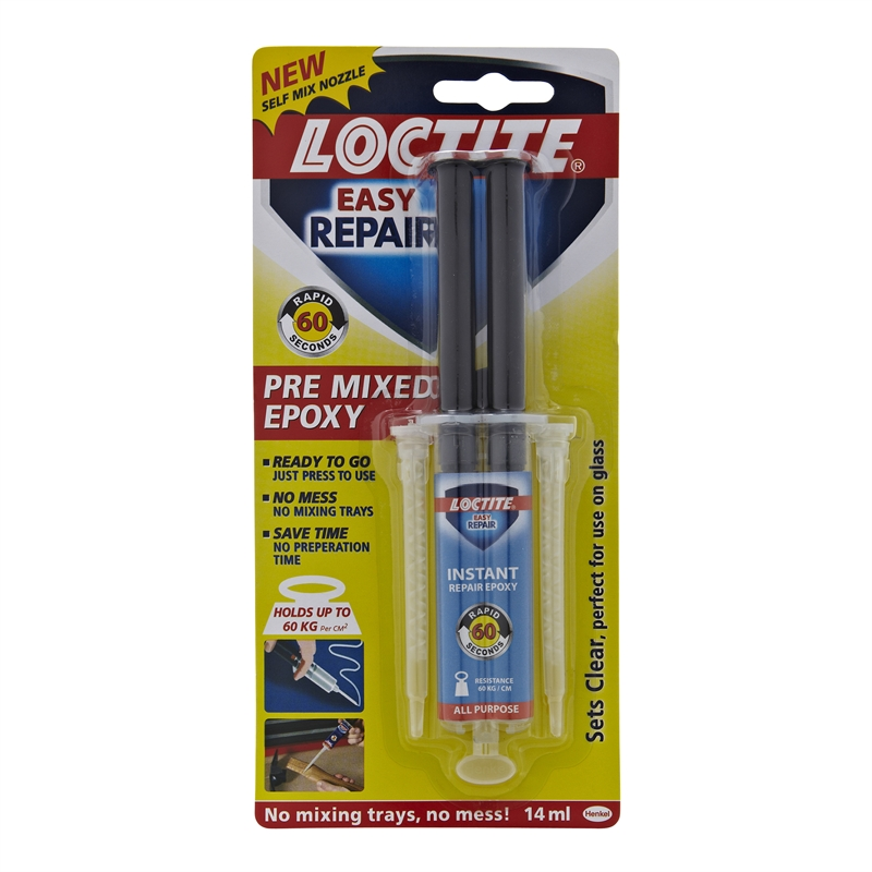 Loctite 14ml 60 Second Rapid Repair Epoxy Adhesive
