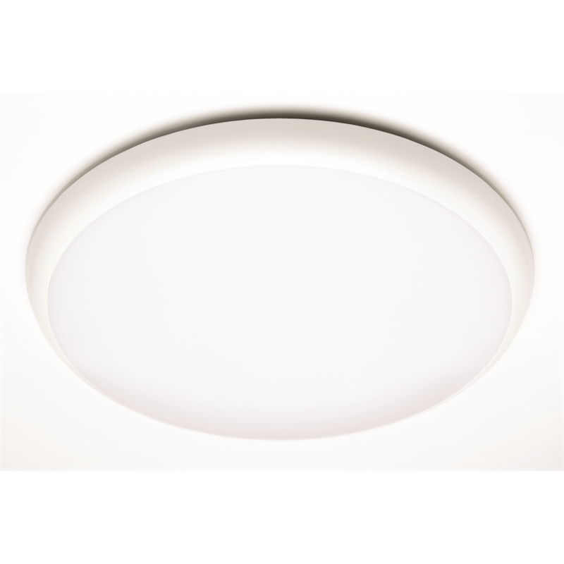 Brilliant 18w white led disque oyster ceiling light bunnings warehouse brilliant 18w white led disque oyster ceiling light mozeypictures Gallery