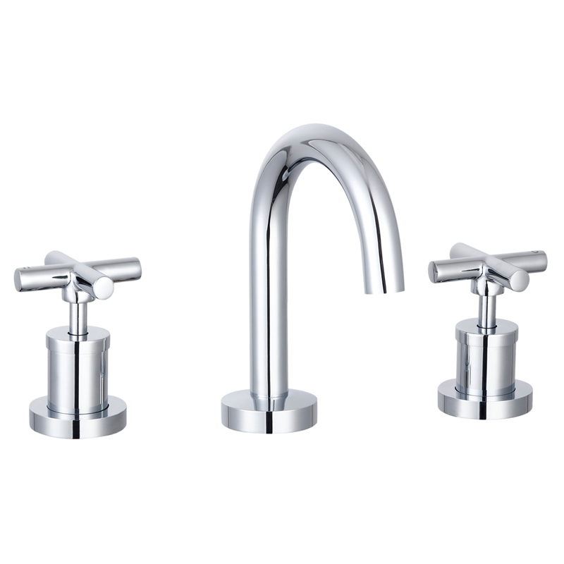 Resonance Ceramic Disc Basin Tap Set Chrome