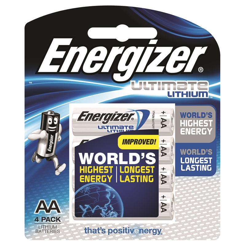 energizer aa lithium batteries 4 pack bunnings warehouse. Black Bedroom Furniture Sets. Home Design Ideas