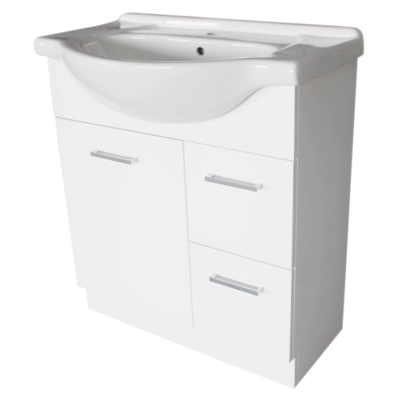 estilo 750mm semi recessed vanity cabinet only bunnings warehouse - Bathroom Cabinets Bunnings