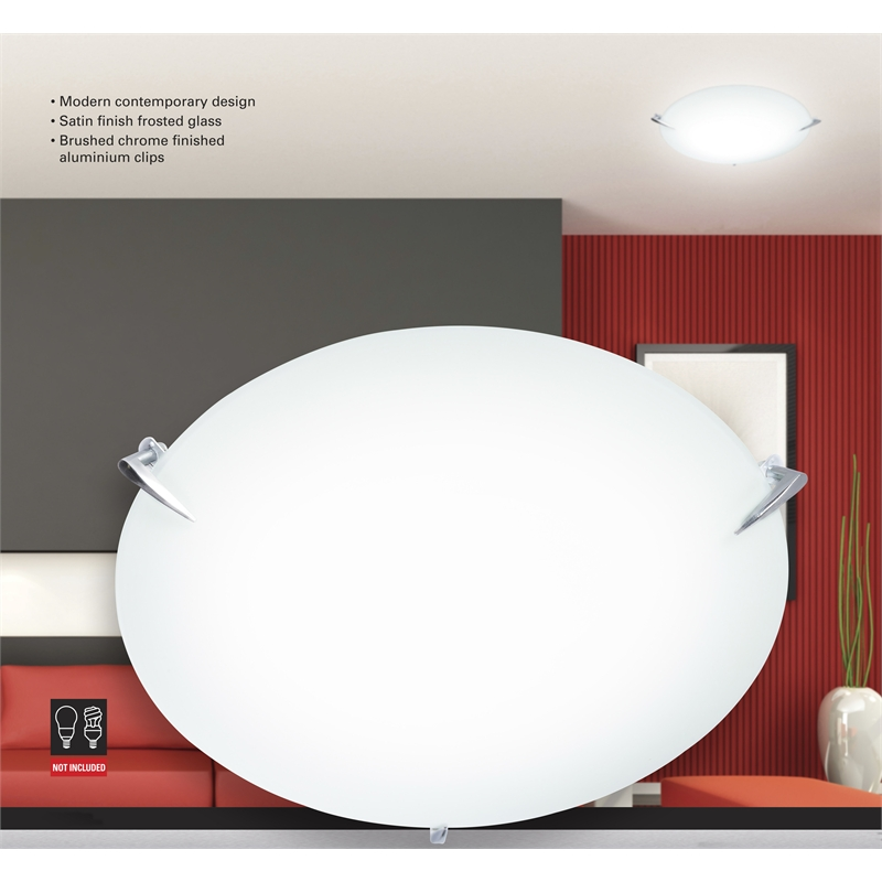Ceiling Lights At Bunnings : Cafe lighting cm satin astra ceiling oyster light