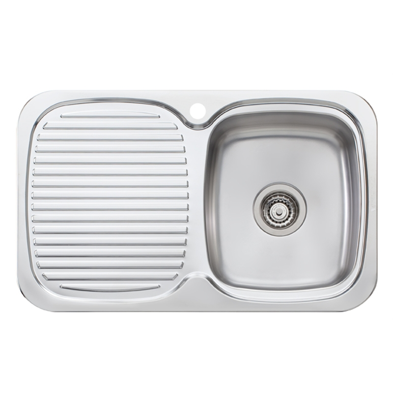 Oliveri LakeLand Single Bowl Inset Sink With Drainer Bunnings ...
