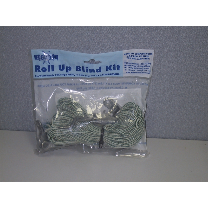Coolaroo Roll Up Blind Kit Bunnings Warehouse
