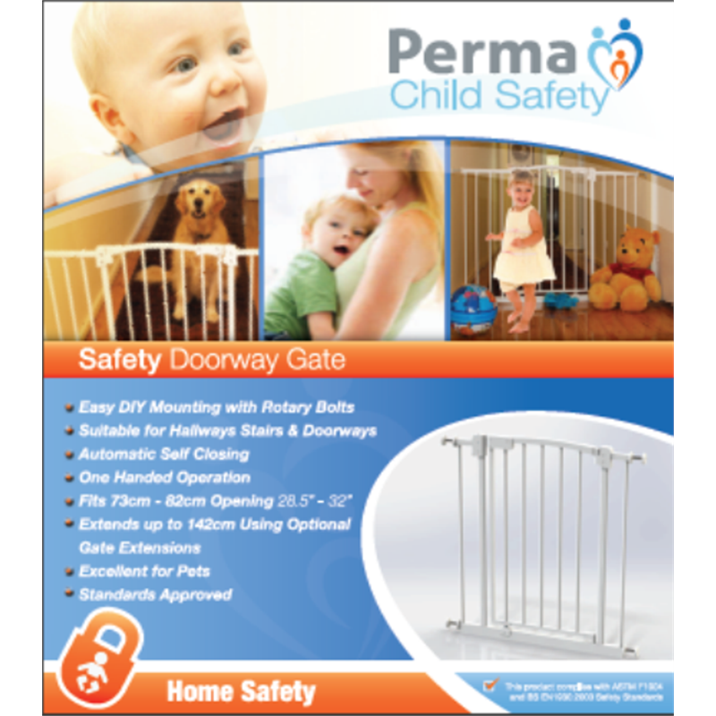 perma child safety gate instructions
