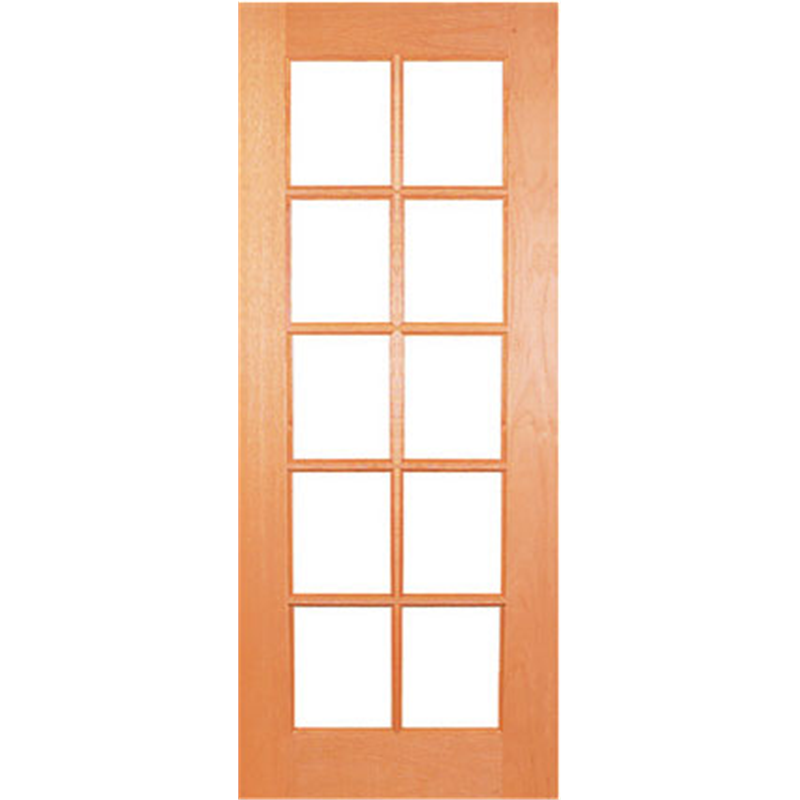 Woodcraft Doors 2040 X 820 X 40mm Flash Bevelled Safety Glass