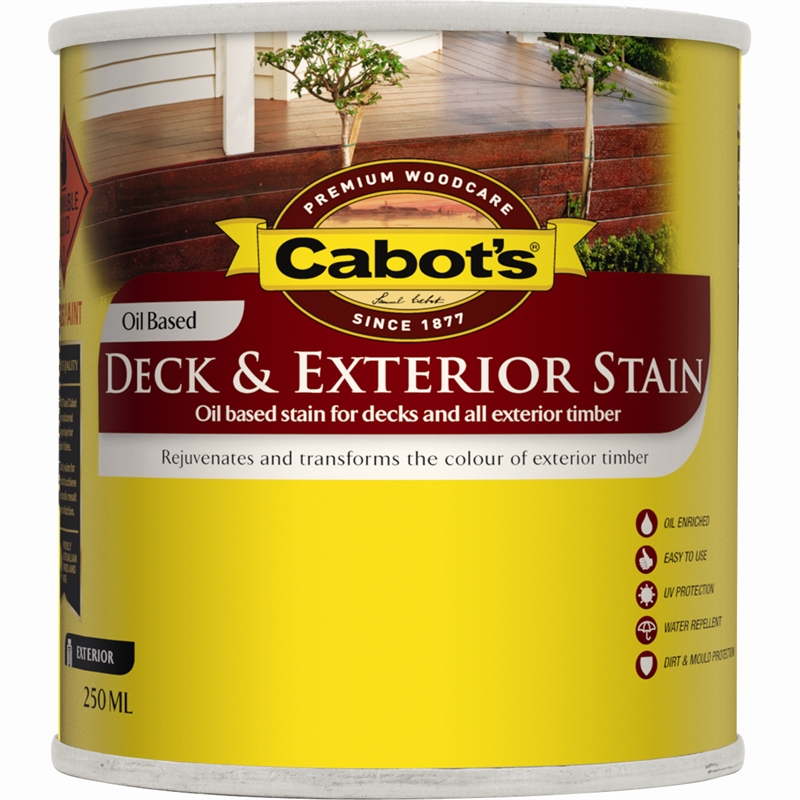 Cabot 39 s 250ml october brown oil based deck exterior stain for Cabot s exterior stain colours