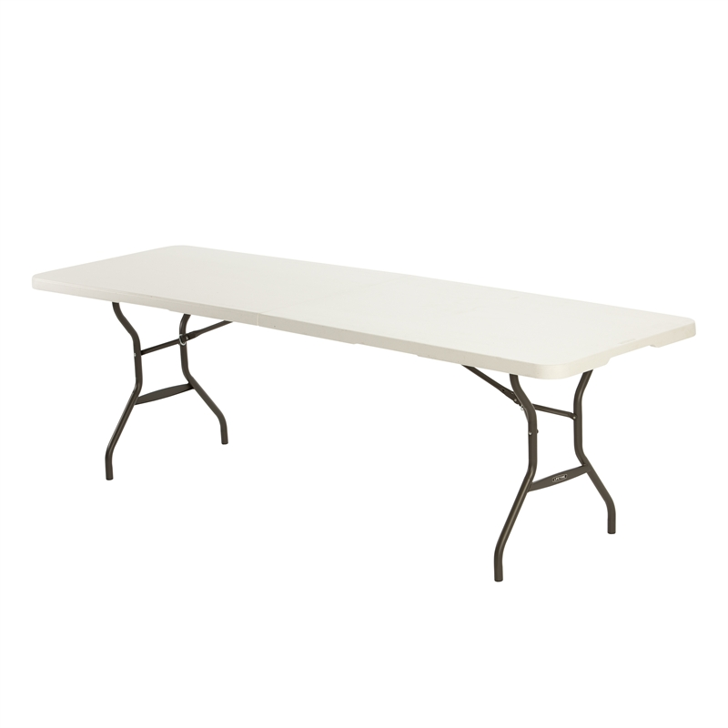lifetime 2440 x 762 x 737mm folding trestle table bunnings warehouse
