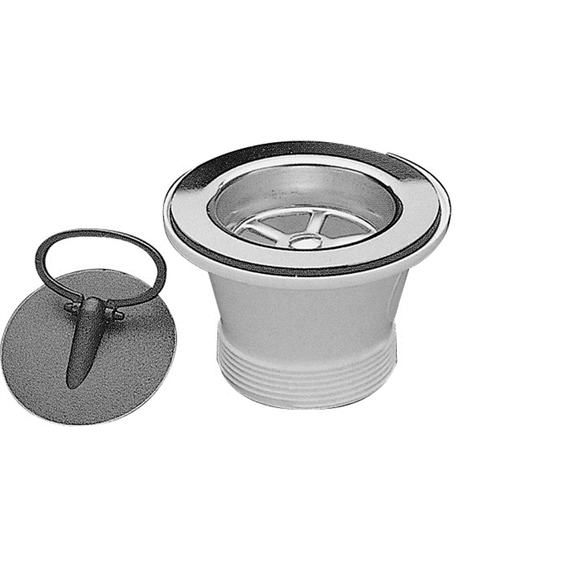 abey 50mm stainless steel sink waste - Kitchen Sink Waste Fittings
