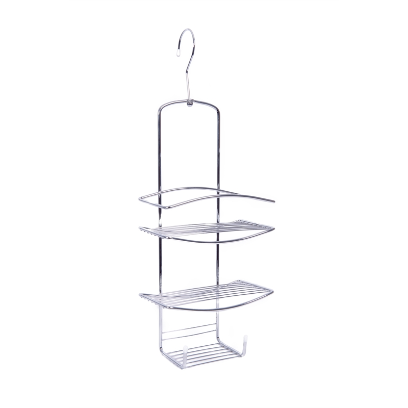 I N  4830225. Zone Hardware Chrome Swivel Shower Caddy   Bunnings Warehouse