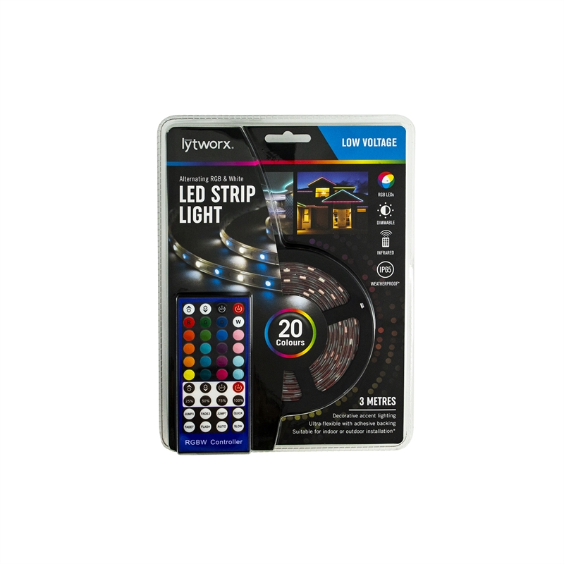 outlet store 6179a 86f96 Lytworx RGB And White LED Strip Light