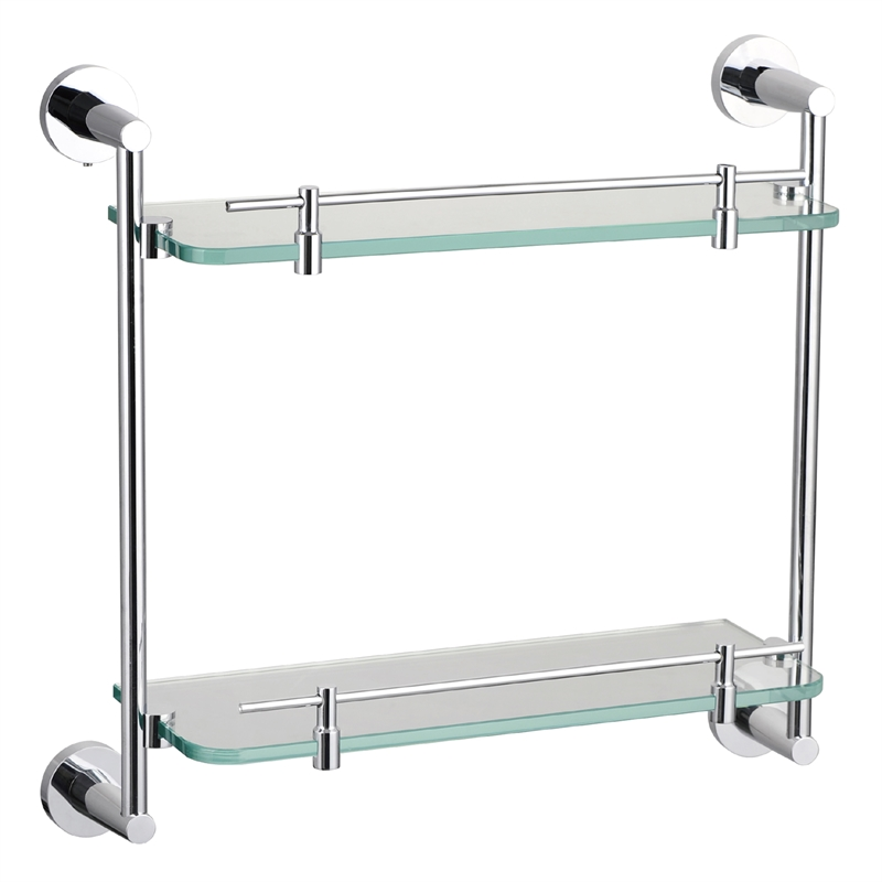 Concerto Double Layer Glass Shelf