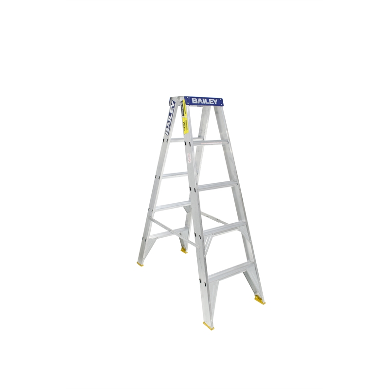 Bailey 1 5m 150kg Pro Double Sided Aluminium Step Ladder