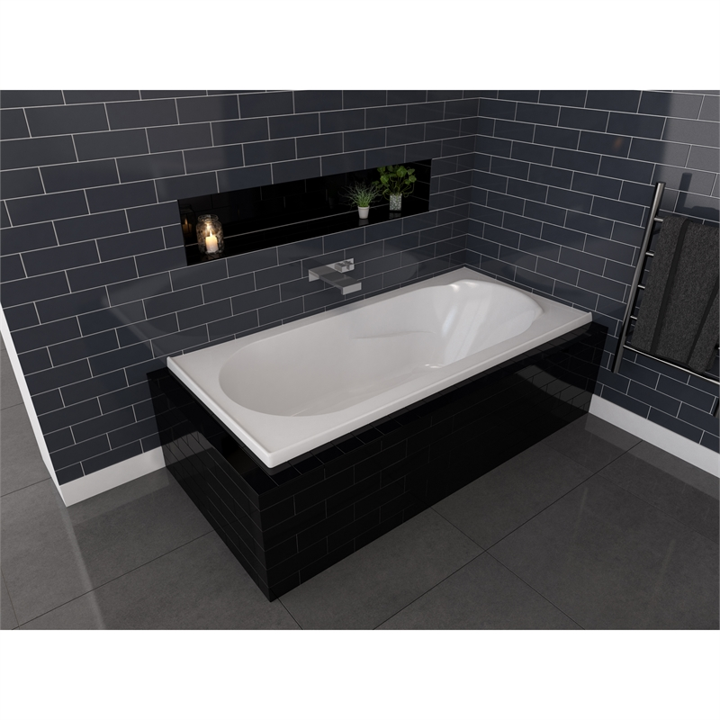 decina 1650 x 715 x 445mm adatto bath