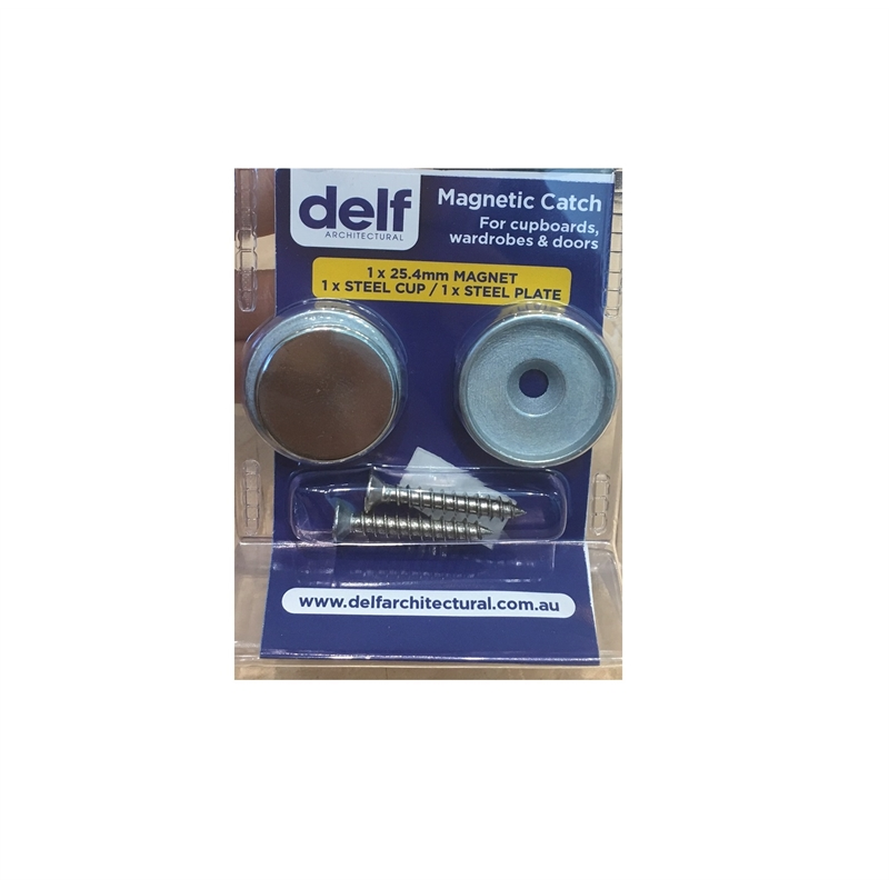 Delf 25mm Concealed Magnetic Latch Bunnings Warehouse