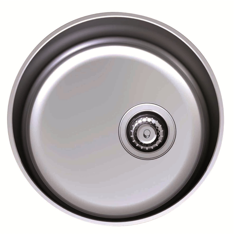 Clark 428mm Main Single Bowl Undermount Sink 0TH | Bunnings Warehouse